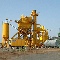 Asphalt Batch Mix Plant,